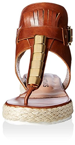 Chaniotakis Womens String Sandale Tan
