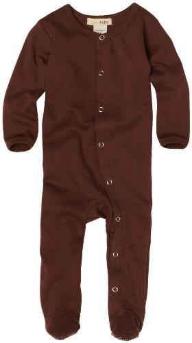 (L'ovedbaby Unisex-Baby Newborn Gl'oved Sleeve Overall, Brown, 6-9 Months)