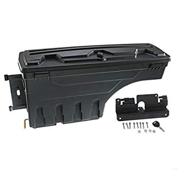 Image of A-Premium Truck Bed Storage Box Toolbox for Chevrolet Silverado 1500 2500 3500 GMC Sierra 1500 2500HD 3500HD 2007-2018 Rear Driver Side Truck Bed & Tailgate Accessories