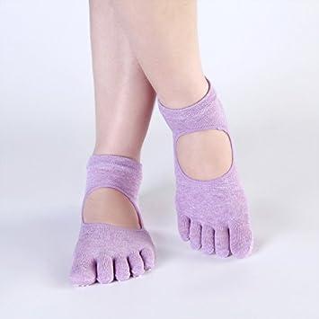 XIU*RONG Yoga Yoga Algodón Calcetines, Medias, Calcetines ...
