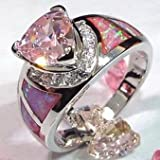 Best Pixel Jewelry 1985 Wedding Ring Sets - Pixel Jewelry 1985 - Size6 Pink Sapphire Review