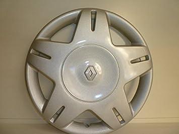 Juego de tapacubos 4 tapacubos diseño Renault Megane desde 2001 o r 14 r 13: Amazon.es: Coche y moto