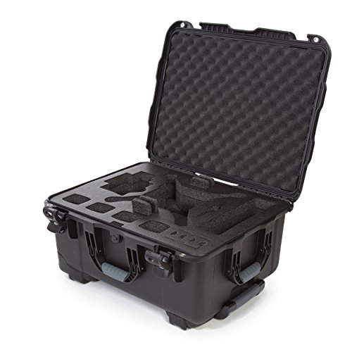 (Nanuk DJI Drone Waterproof Hard Case with Wheels and Custom Foam Insert for DJI Phantom 4/ Phantom 4 Pro (Pro+) / Advanced (Advanced+) & Phantom 3 - 950-DJI41 Black)