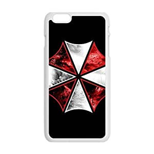meilinF000Red and white umbrella Cell Phone Case for Iphone 6 PlusmeilinF000