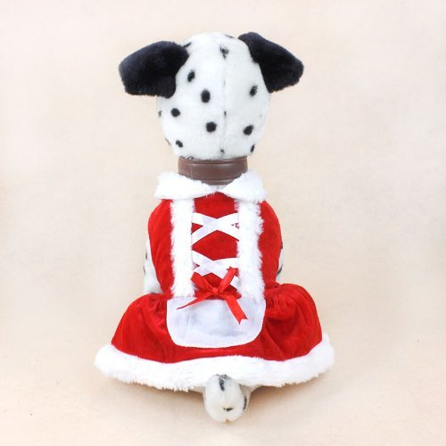 Colorfulhouse Christmas Dog Dress Cute Pet Costumes Pet Apparel for Small Dogs (M)