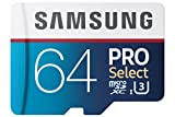 PC Hardware : Samsung PRO Select 64GB 95MB/s MicroSDXC Memory Card (MB-MF64DA/AM)