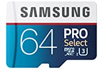 Samsung PRO Select 64GB 95MB/s MicroSDXC Memory Card (MB-MF64DA/AM)