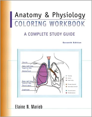 Anatomy & Physiology Coloring Workbook: A Complete Study Guide (7th ...