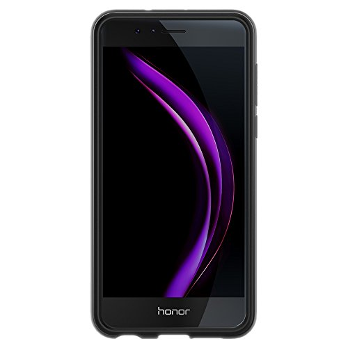 Spigen Rugged Armor Honor 8 Case with Resilient Shock Absorption for Huawei Honor 8 2016 - Black by Spigen (Image #7)