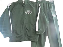 NFL JETS Track Suit Boys 2-Piece Set Green