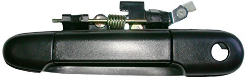 Needa Parts 772362 Toyota Front Left Black Exterior Door Handle with Key Hole