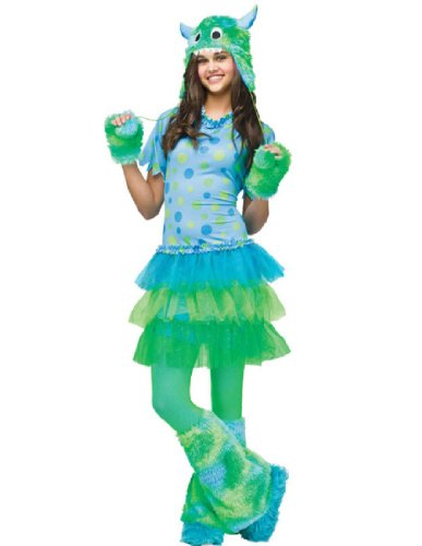 [Fun World Monster Miss Costume - Junior (0-9)] (2 Person Halloween Costumes For Kids)