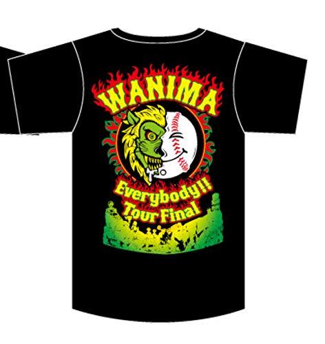 WANIMA Everybody TOUR2018 Tour Final 限定Tシャツ Lサイズ ワニマ (エビバデ ツアー) ワニマ wanima ファイナル   B07GF1N1XD