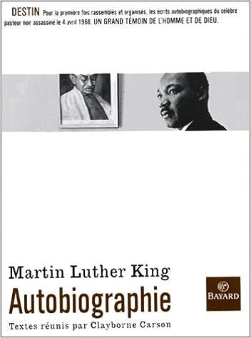 Téléchargez des livres epub pour blackberry Martin Luther King : Autobiographie by Clayborne Carson PDF PDB 2227436808