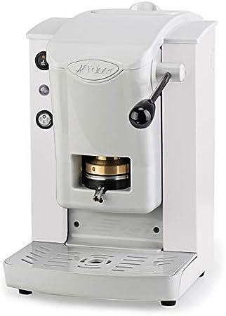 Faber Italia Faber Slot Plast - Cafetera de monodosis 44 mm ESE - Color blanco con acabados grises: Amazon.es: Hogar