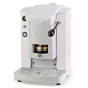 Faber Italia Faber Slot Plast máquina de café de monodosis ESE 44 mm - Color Blanca Con Acabado Gris: Amazon.es: Hogar