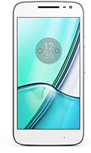 Moto G4 Play - Smartphone de 5 (4G, RAM de 2 GB, memoria interna de 16 GB, cámara de 8 MP, Android 6), blanco