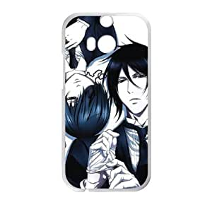 Black Butler HTC One M8 Cell Phone Case White Decoration pjz003-3773215