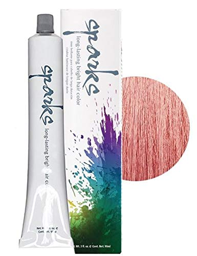 Sparks Long Lasting Bright Hair Color, Rose Gold, 3 Ounce