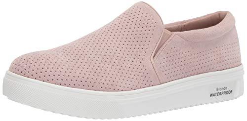 Blondo Women's GALLERT Shoe, Light Pink Suede, 6.5 Medium US