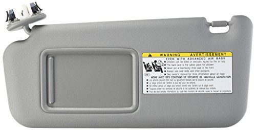 (GENUINE TOYOTA 06-10 RAV4 OEM DRIVER SIDE (LH) SUNVISOR SUNROOF 74320-42501-B2)