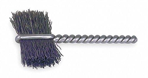 5/16'' Power Tube Brush, Burrite Shank, 9/16'' Brush, 2-1/8'' Overall Length, 10 PK