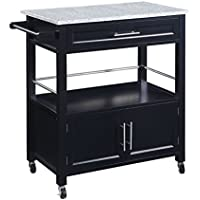Amazon Com Bar Amp Serving Carts Home Amp Kitchen