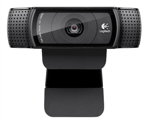 Logitech HD Pro Webcam C920 1080p Widescreen Video Calling and Recording