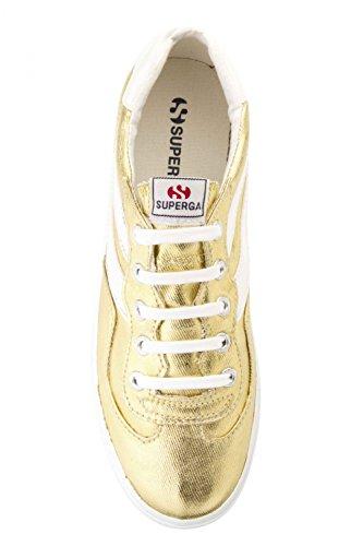Superga 2832 Cotmetw - Zapatillas Unisex adulto Dorado - Gold (174)