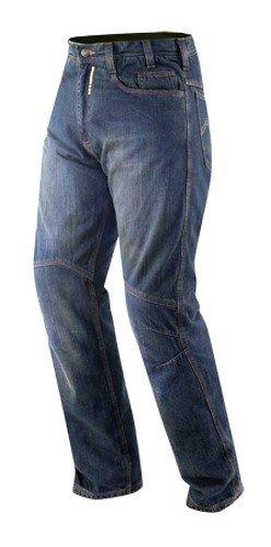 Jeans CE Armored Motorcycle Curiser Scooter Quad Pants Trousers Denim Blue 32