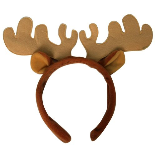 Making Believe Plush Moose Costume Headband]()