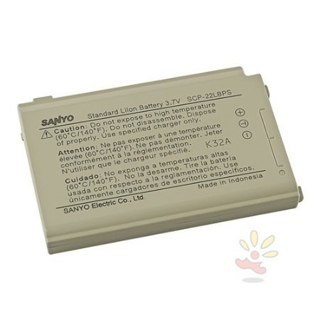 2 x Sanyo SCP-2400/ 3100/ 7000 Standard OEM Battery SCP-22LBPS