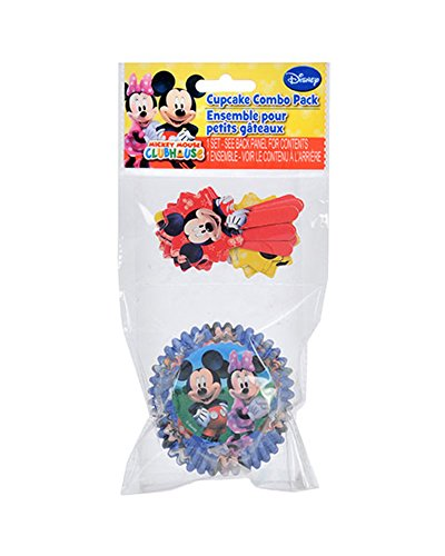 Mickey Mouse Clubhouse Cupcake Combo