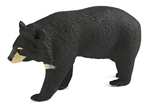 Safari Ltd. Moon Bear - Realistic Hand Painted Toy Figurine Model - Quality Construction from Phthalate, Lead and BPA Free Materials - for Ages 3 and Up
