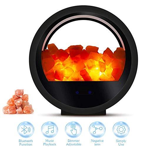 Himalayan Pink Salt Lamp Night Light Wireless Small Mini Bluetooth Speaker - #1 Natural Himalayan Salt Lamp - Hymalain Pink Salt Lamp