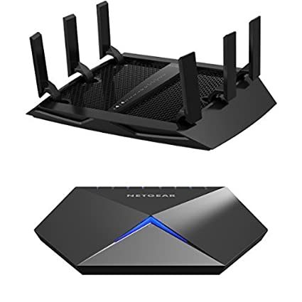 2234e10648 NETGEAR Nighthawk X6 AC3200 Tri-Band Gigabit WiFi Router (R8000) Bundle  with Nighthawk