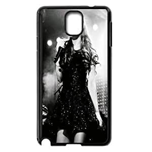 [MEIYING DIY CASE] For Samsung Galaxy NOTE3 Case Cover -Singer Ariana Grande-IKAI0446574