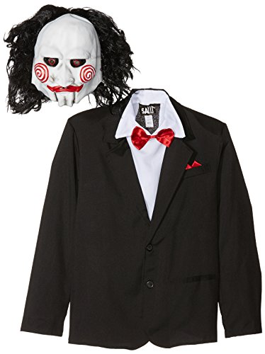 Medium Mens Saw Jigsaw Costume (Halloween Costume Ideas For Adults Uk)