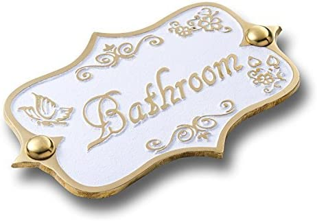 BATHROOM DOOR SIGNS PLAQUES GIRL IN BATH ANTIQUE EFFECT DESIGN *FREE POSTAGE*