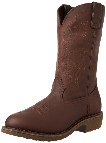 Durango stivali FR104 stivali da equitazione occidentali workboot Marrone (Brown (Weite EE))