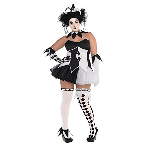 Tricksterina Costume - Plus Size - Dress Size -