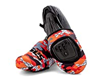 SLS3 Neoprene Cycling Toe Covers - Cycling Shoe Cover - Thermal Cycle Toe Cover - Windproof Waterproof - No More Cold Feet
