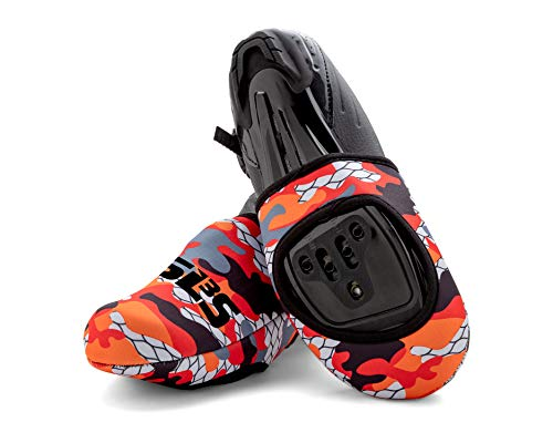 SLS3 Neoprene Cycling Toe Covers | Cycling Shoe Cover | Thermal Cycle Toe Cover | Windproof Waterproof | No More Cold Feet from SLS3