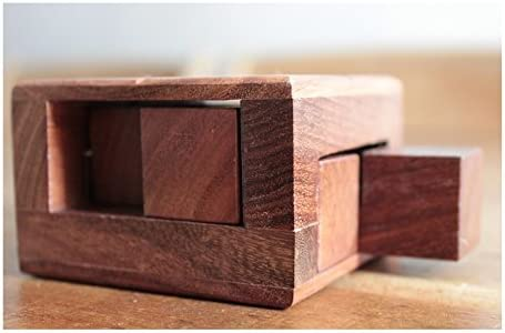 3D Shuffle in Solid Sheesham Wooden Puzzle