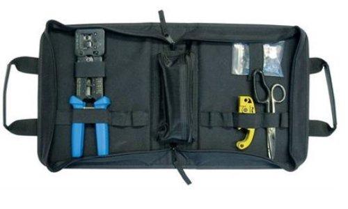 Platinum Tools 90151 EZ-RJ45 HD Basic Termination Kit, w/Zip Case. Box. by Platinum Tools
