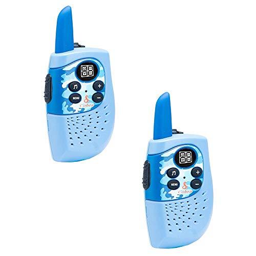 Cobra HE130B Hero Series Kids' Walkie Talkie 2-Way Radios, Blue