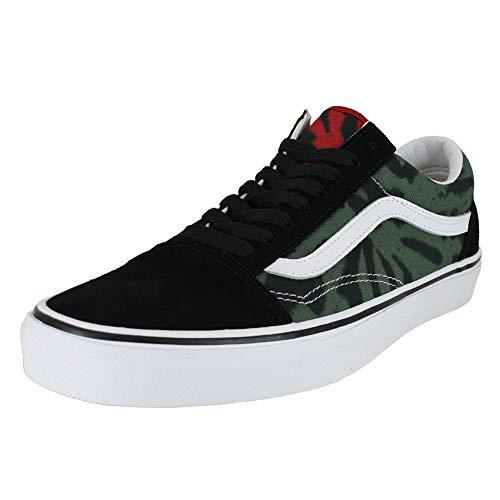 Vans Mens Tie Dye Old Skool Multi/Black Sneaker - -
