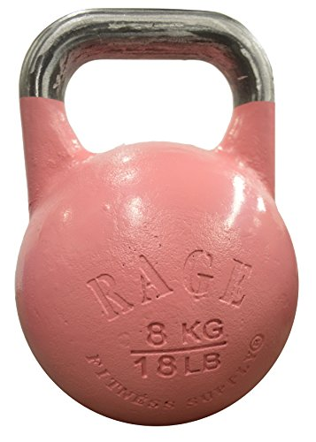 Rage Fitness CF-KB020 Competition Kettlebell, Purple, 20 kg/44-Pound