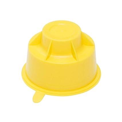 Zibro Original tapón de transporte amarillo para todas las estufas Zibro y Toyotomi