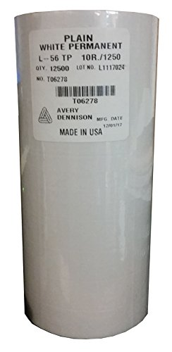 Sato PB-2 (PB-216) White Labels for PB-216 (12500 per sleeve)